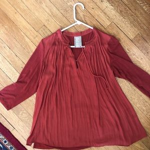 Rust Dolan top from Anthropologie M